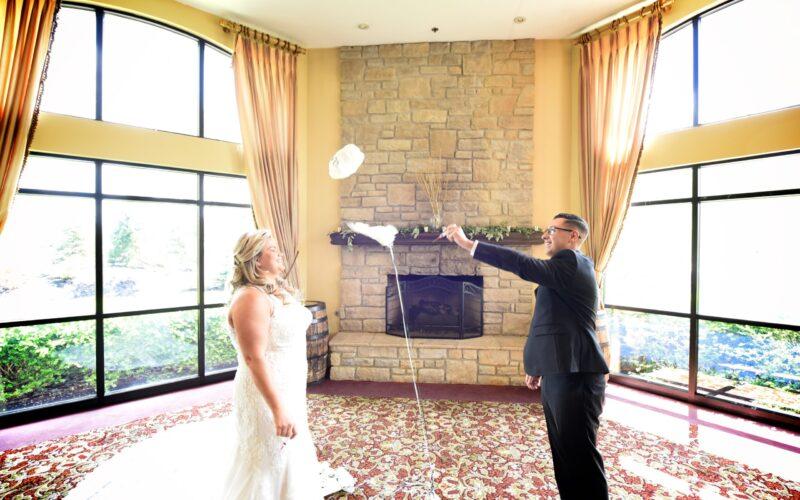 Blue Heron Brewery & Event Center  Medina Ohio wedding  for Erin and Ryan